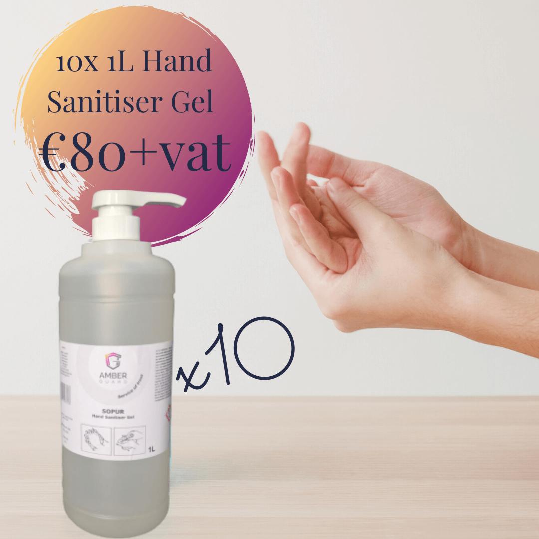 Hand sanitiser gel ireland bulk price